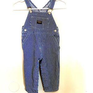 24months overalls OshKosh striped jean